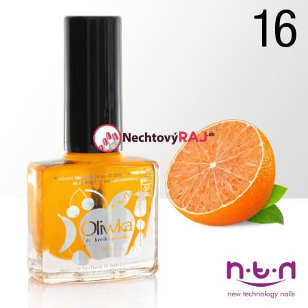 Olejček na nechty č.16 vôna mandarinka