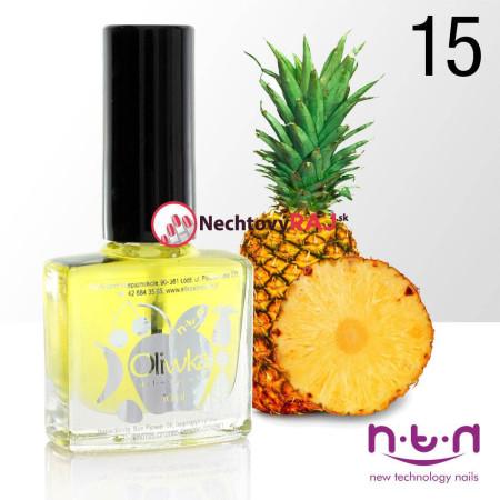 Olejček na nechty vôna ananás 10ml NechtovyRAJ.sk - Daj svojim nechtom všetko, čo potrebujú