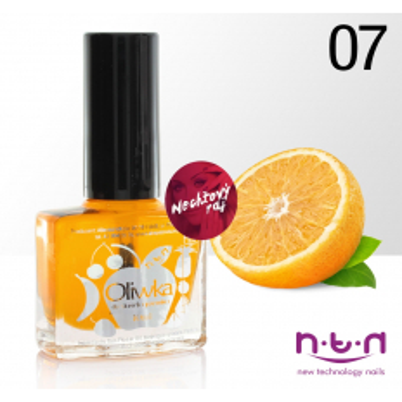 Olejček na nechty č.7 vôna pomaranč