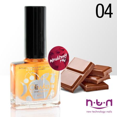 Olejček na nechty vôna čokoláda 10 ml NechtovyRAJ.sk - Daj svojim nechtom všetko, čo potrebujú
