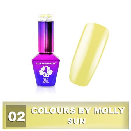 02. Gél lak na nechty Colours by Molly 10 ml - NechtovyRAJ.sk
