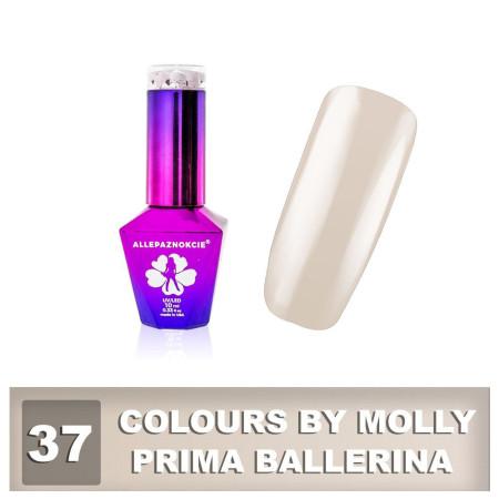 37. Gél lak na nechty Colours by Molly 10 ml