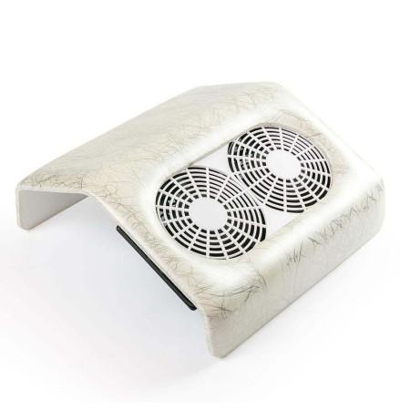 Odsávačka prachu 48 w s dvojitým ventilátorom - strieborný mramor