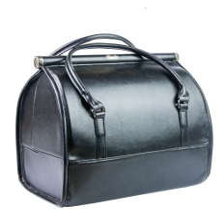 Luxusný kozmetický kufrík - čierny 012 - NechtovyRAJ.sk