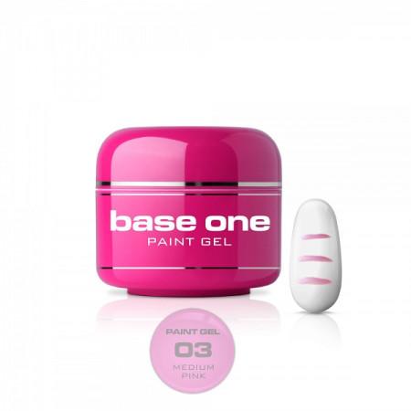 Silcare Base One Paint gél 03 medium pink 5 g - NechtovyRAJ.sk