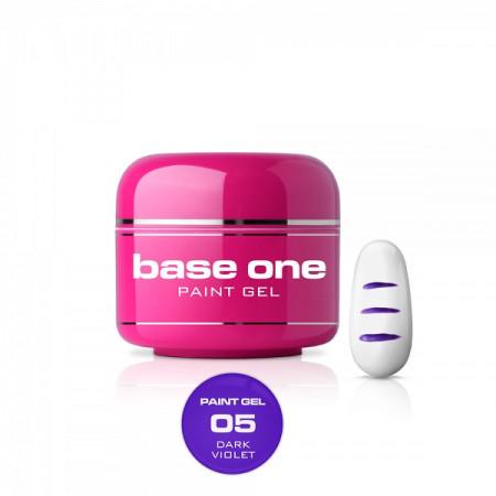 Silcare Base One Paint gél 05 dark violet 5g NechtovyRAJ.sk - Daj svojim nechtom všetko, čo potrebujú