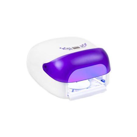 UV lampa na nechty NeoNail 36 W,so sušičkou - Fialová