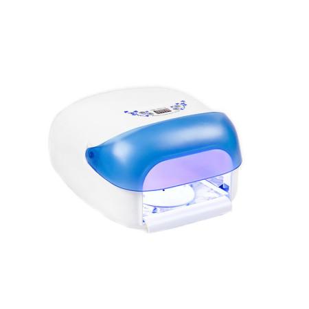 UV lampa na nechty 36 W,so sušičkou - modrá NechtovyRAJ.sk - Daj svojim nechtom všetko, čo potrebujú