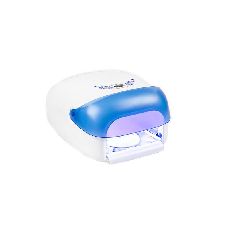 UV lampa na nechty NeoNail 36 W,so sušičkou - modrá