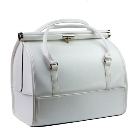 Luxusný kozmetický kufrík - biely 012 - NechtovyRAJ.sk