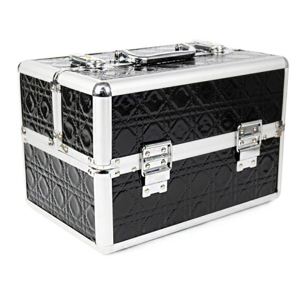 Kozmetický kufrík malý čierny