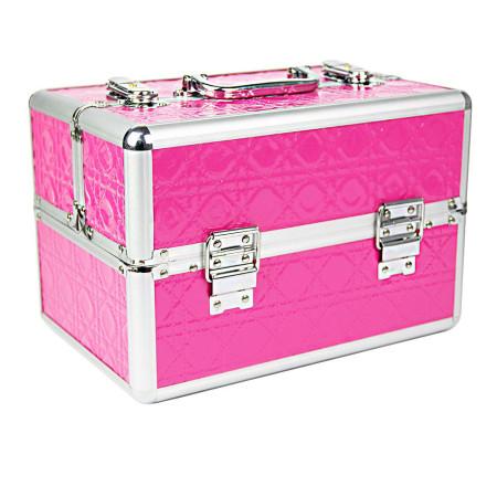 Kozmetický kufrík malý ružový NechtovyRAJ.sk - Daj svojim nechtom všetko, čo potrebujú