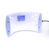 SUNS - UV/LED lampa- 36 W biela so senzorom