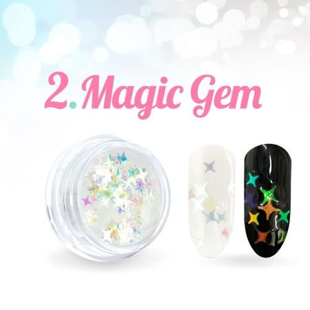 Ozdobné hviezdičky Magic Gem 02.