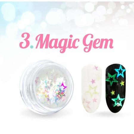 Ozdobné hviezdičky Magic Gem 03.