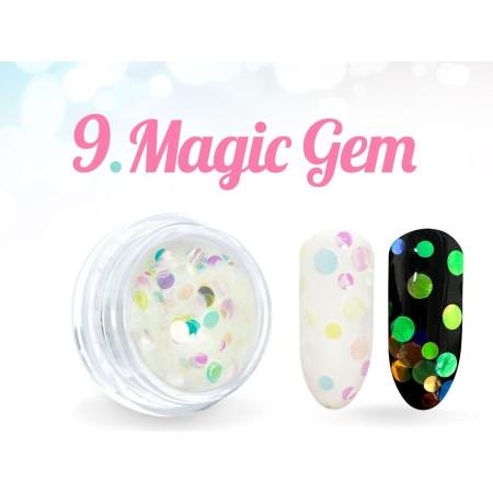 Ozdobné kolieska Magic Gem 09. NechtovyRAJ.sk - Daj svojim nechtom všetko, čo potrebujú