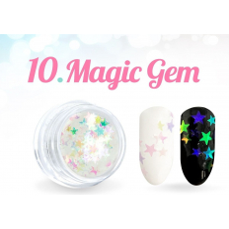 Ozdobné hviezdičky Magic Gem 10-NechtovyRAJ.sk