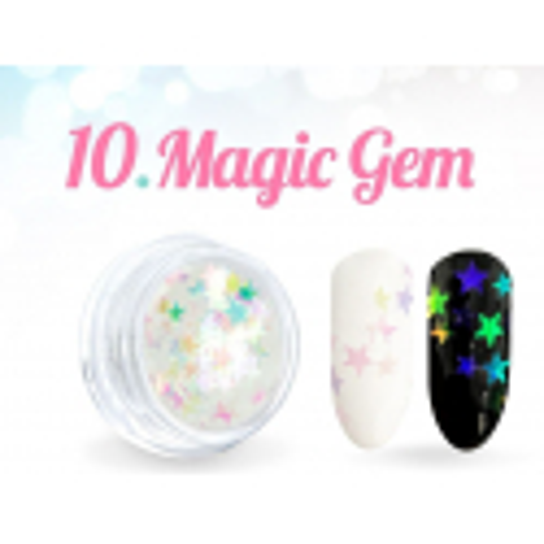 Ozdobné hviezdičky Magic Gem 10.