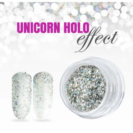 Holografický prášok na nechty - Unicorn NechtovyRAJ.sk - Daj svojim nechtom všetko, čo potrebujú