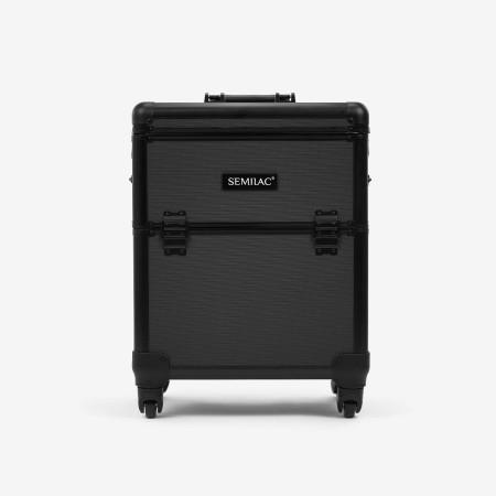 Semilac kozmetický kufrík čierny - XL