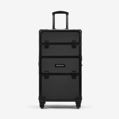 Semilac kozmetický kufrík čierny - XXL