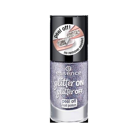 Essence lak na nechty glitter off peel off 04 11ml NechtovyRAJ.sk - Daj svojim nechtom všetko, čo potrebujú