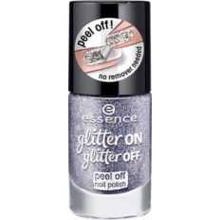Essence lak na nechty glitter off peel off 05 11ml - NechtovyRAJ.sk