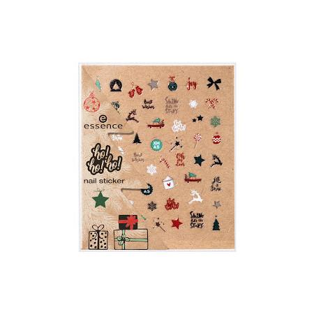 Essence nálepky na nechty 01 Dear Santa NechtovyRAJ.sk - Daj svojim nechtom všetko, čo potrebujú