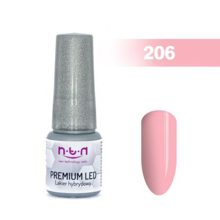 NTN Premium Led gél lak 206 6ml NechtovyRAJ.sk - Daj svojim nechtom všetko, čo potrebujú