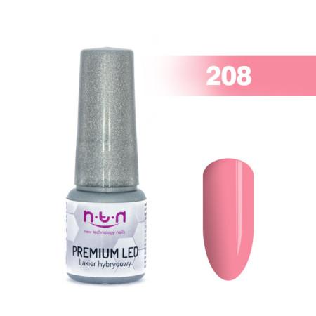 NTN Premium Led gél lak 208 6ml NechtovyRAJ.sk - Daj svojim nechtom všetko, čo potrebujú