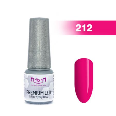 NTN Premium Led gél lak 212 6ml NechtovyRAJ.sk - Daj svojim nechtom všetko, čo potrebujú