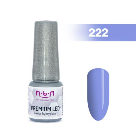 NTN Premium Led gél lak 222 6ml NechtovyRAJ.sk - Daj svojim nechtom všetko, čo potrebujú
