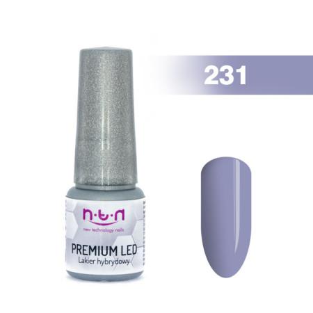 NTN Premium Led gél lak 231 6ml NechtovyRAJ.sk - Daj svojim nechtom všetko, čo potrebujú
