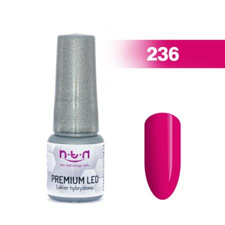 NTN Premium Led gél lak 236 6ml NechtovyRAJ.sk - Daj svojim nechtom všetko, čo potrebujú