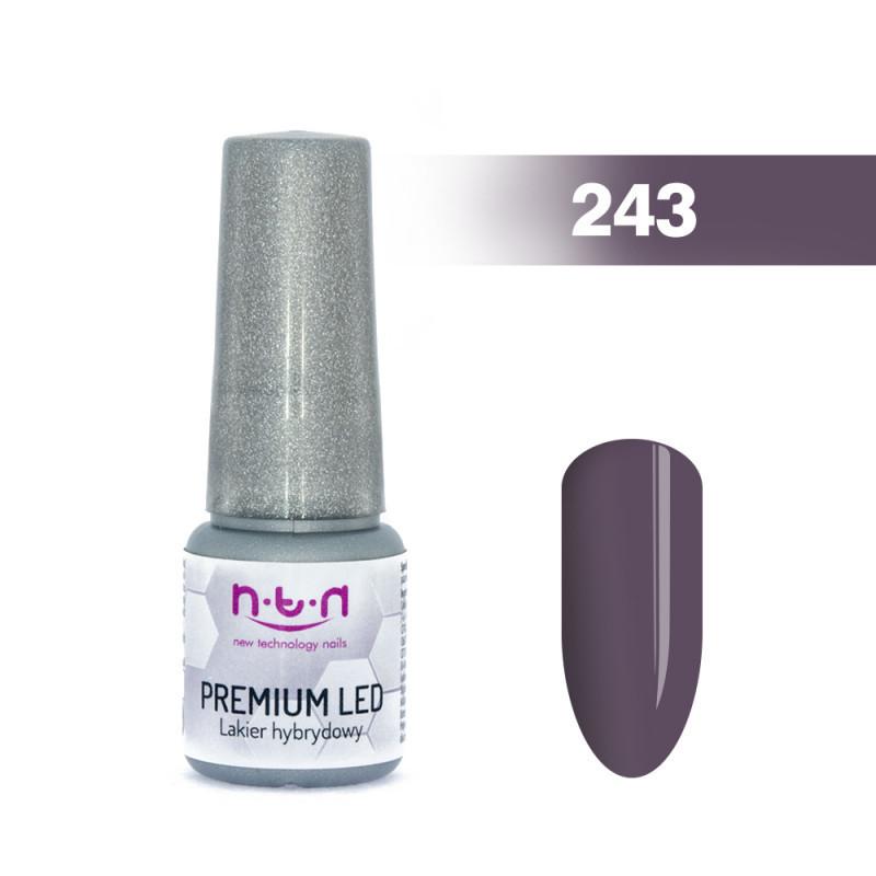 NTN Premium Led gél lak 243 6ml NechtovyRAJ.sk - Daj svojim nechtom všetko, čo potrebujú