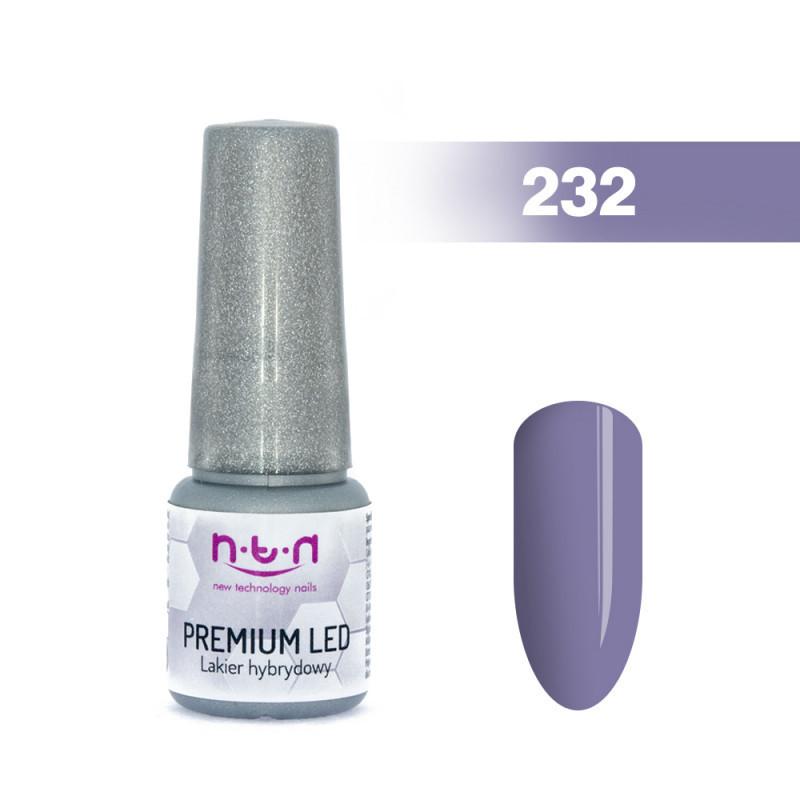 NTN Premium Led gél lak 232 6ml NechtovyRAJ.sk - Daj svojim nechtom všetko, čo potrebujú