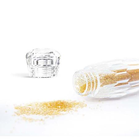 Nechtovyraj ozdoby na nechty Mini Pixie zlaté
