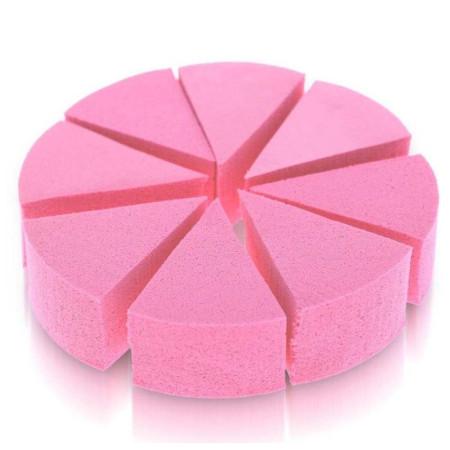 Kozmetické hubky 8 ks na ombré a make up ružové