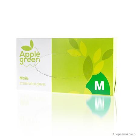 Nitrilové rukavice bezpúdrové 100ks M zelené