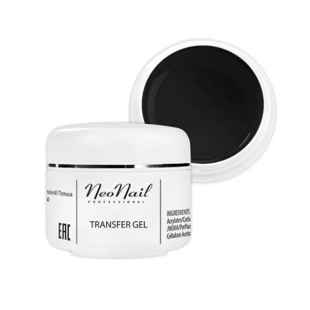 Neonail transfér gél - čierny 5ml