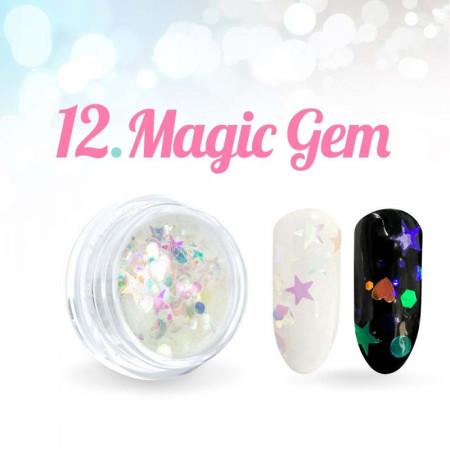 Ozdoby Magic Gem 12. NechtovyRAJ.sk - Daj svojim nechtom všetko, čo potrebujú