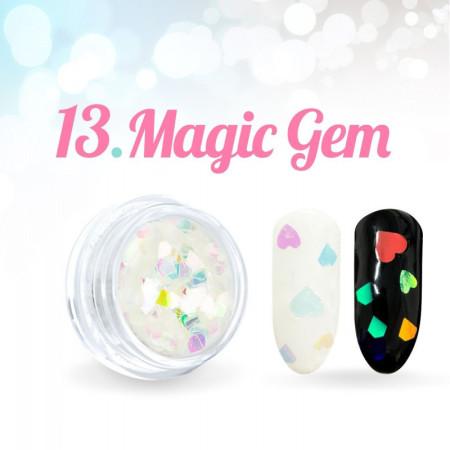 Ozdobné hviezdičky Magic Gem 13.