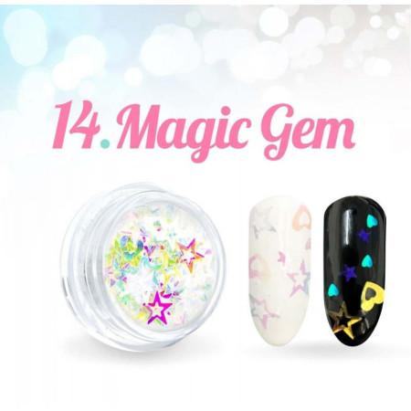 Ozdoby Magic Gem 14. NechtovyRAJ.sk - Daj svojim nechtom všetko, čo potrebujú