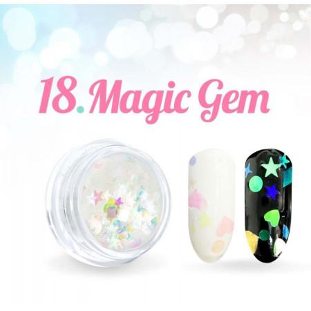 Ozdoby Magic Gem 18. NechtovyRAJ.sk - Daj svojim nechtom všetko, čo potrebujú