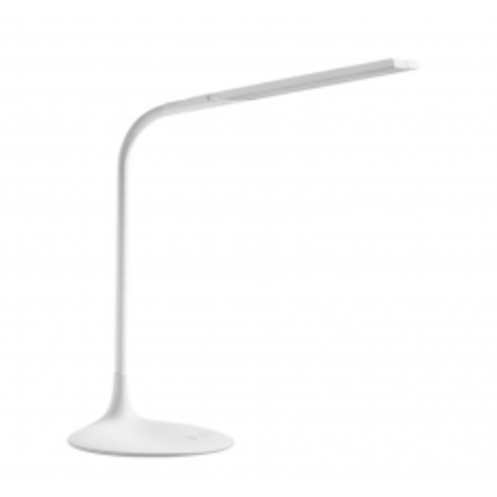 Moderná LED lampa s dvoma ramenami a batériou