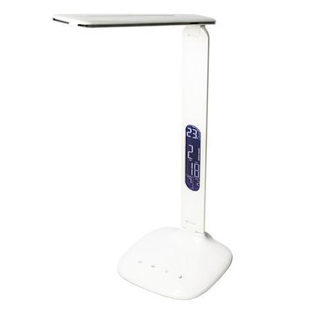 Moderná LED lampa s displejom, teplomerom a USB nabíjačkou - biela NechtovyRAJ.sk - Daj svojim nechtom všetko, čo potrebujú