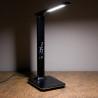 Moderná LED lampa s displejom, teplomerom a USB nabíjačkou - čierna NechtovyRAJ.sk - Daj svojim nechtom všetko, čo potrebujú