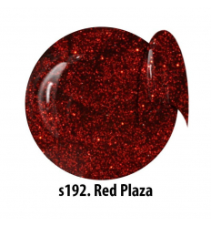 Glitrový UV gél NTN S192 Red Plaza 5 ml