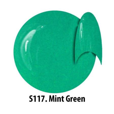 Farebný uv gél NTN S117 Mint Green 5g NechtovyRAJ.sk - Daj svojim nechtom všetko, čo potrebujú