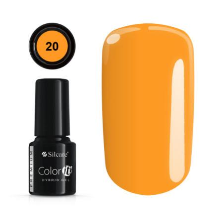 Gél lak Color IT Premium 20 6 ml